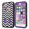 Phone móvil Accessories Chevron Pattern Caso Silicone Cover para iPhone6 Plus 5.5inch