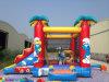 Mini Jumoing château plein d'entrain gonflable commercial utilisé de 2016 à vendre