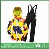 Casaco de esqui para crianças + Calças Esquiando roupas de equitação de equitação