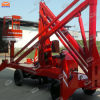 Four Auto-azionato 12.5m Wheels Boom Lift da vendere