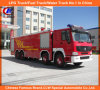 371HP Sinotruk HOWO 8*4 Fire Fighting Trucks
