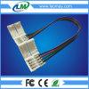 8mm conetor da tira de 3528 diodos emissores de luz