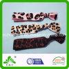 Faixa elástica Twisted do cabelo estiramento elegante simples do estilo do leopardo do bom