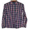 Cotone 100% della camicia dell'assegno degli uomini Xdl15038