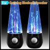 Nuevo altavoz de Bluetooth de la llegada con la demostración del agua del LED