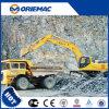 Sany máquina escavadora da esteira rolante de uma mineração de 34.5 toneladas com cubeta Sy335c da rocha