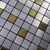 Mattonelle di mosaico adesive del pavimento della stanza da bagno degli autoadesivi delle mattonelle di ceramica della zolla del mosaico della priorità bassa della parete delle mattonelle di vetro di alluminio di puzzle
