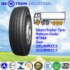 Pneumático interurbano 295/80r22.5 do caminhão da movimentação da boa estrada de alta velocidade