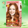10 minutos Hair Color Cream Golden Copper 8.34 30ml*2+5ml