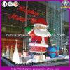 Гигантское раздувное Санта для украшения рождества клуба