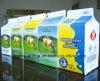 500ml caixa fresca da parte superior do frontão do leite de 3 camadas