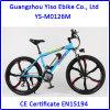 Bicicletas de LiFePO4 Emountain con la rueda Bicicletas Electricas de la aleación del magnesio