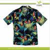 Le coton des hommes personnalisés/chemise hawaïenne de polyester (KY-S006)