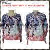 2016 новое Arrive Fashion Ladies Round Neck Short Sleeve Print T-Shirt с Beading (NX126)