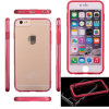 TPU + iPhone 6 Transparent Clear CaseのiPhone 6のためのパソコンCombo Case、