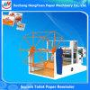 고급 사각 직사각형 고급 화장지 기계