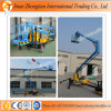 Bewegliches Trailer Articulated Hydraulic Boom Lift Platform Used für Cherry Picker