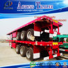 Container Twist Locks를 가진 40ft Flatbed Semi Trailer