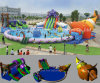 Grade comercial Curve Inflatable Water Slide para Water Park (CY-M2140)