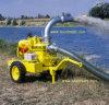 Bomba Diesel móvel montada reboque do controle de inundação (6  8  10  12 )