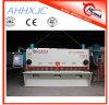 QC11k (Y) máquina de corte da placa hidráulica do tosquiador da placa de aço da guilhotina