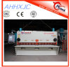 Máquina que pela de la guillotina de QC11k (y) de la placa de acero de la placa hidráulica del esquilador