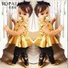 2014 New 유럽과 미국 Spring Type The Golden Girls Princess Skirt Suit의 Short Section; 아이 치마 정장