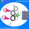 Sistema eléctrico solar para el estudio de los niños de África, iluminación casera