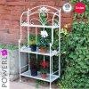 3-Tier casa e giardino mensole decorative del metallo