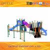 Напольное оборудование спортивной площадки с 114cm гальванизированным столбом для детей