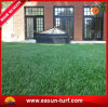 정원을%s 우수한 자연적인 녹색 인공적인 잔디 정원 담