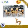 Het de houten Stoelen en Bureau van de Staaf van het Meubilair van het Hotel (ul-JT349)