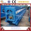 El canal de la bajada de aguas y el azulejo de material para techos de aluminio laminan la formación de la máquina
