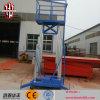 Lijst van de Lift van het Aluminium van het Werk van de Hoogte van de Lift van Ce 10m de Lucht/de Hydraulische Lift van de Mens/de Draagbare Lift van het Aluminium van de Mens