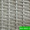 Producto material tejido mano del bastón crudo de la media luna (BM9663-1)