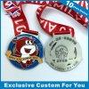 リボンが付いている賞のためのカスタム記念品メダル安いメダル
