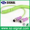 M12 2pin3pin4pin5pin8pin12pinwaterproof IP67 IP68 Circular Spring Cable