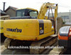 KOMATSU utilizó el mini excavador hidráulico PC130 con Ce