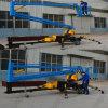 Levage monté sur plate-forme fonctionnant aérien de boum de remorque de levage hydraulique d'homme d'araignée de 12 M