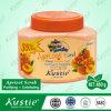 L'épuration et l'abricot Exfoliating frottent avec l'essence de fruit normale