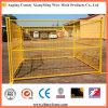 PVC que pulveriza a cerca portátil soldada da construção