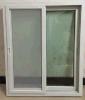 Fenêtre coulissante PVC / UPVC avec filet d'écran avec poignée