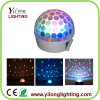 Mini cubierta blanca RGBW 3W LED Magic Ball