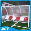 Esconderijos subterrâneos móveis galvanizados do futebol dos Dugouts/do futebol do frame de aço