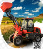쉬운 Damaged Spare Parts를 가진 Everun 세륨과 TUV Approved 1.0 Ton Mini Wheel Loader