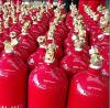 Bombola per gas dell'azoto con colore rosso