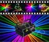 Lumière laser colorée d'étape de dessin animé de la lumière d'étape de laser du DJ de disco de Noël RVB Ilda