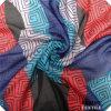 Tela Chiffon escarpada suave de la bufanda/tela de la ropa