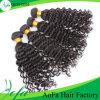 加工されていなく緩い波のブラジルのRemyの毛のアフリカのブレードの毛