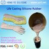 Come usare silicone liquido per fare le membra artificiali del piede umano
